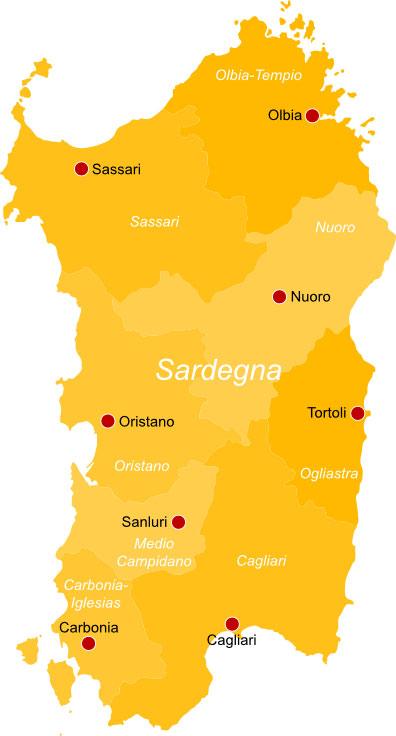 Cartina Sardegna Oristano.Regione Sardegna Info Pesca Sportiva E Licenza Pescaok It